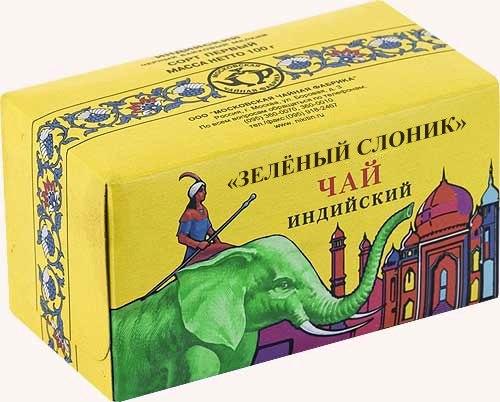 """Чай """"Зелёный слоник"""""""